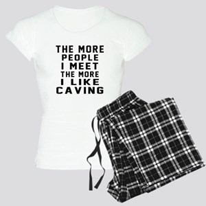 I Like More Caving Women's Light Pajamas