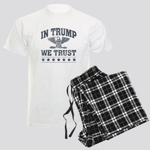 In Trump We Trust Men's Light Pajamas