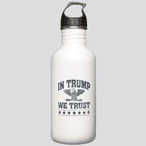 In Trump We Trust Stainless Water Bottle 1.0L
