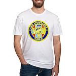 USS Milwaukee (AOR 2) Fitted T-Shirt