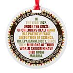 Blame The EPA Ornament