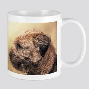 Border Terrier Photographic Art Gift Mug Mugs