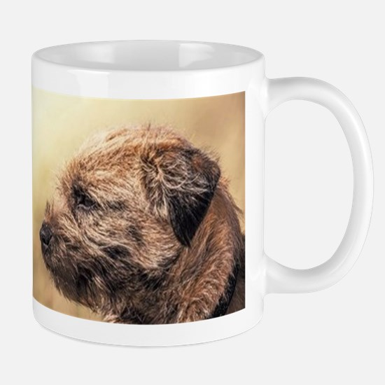 Border Terrier Photographic Art Gift Mug Mugs