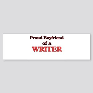 Proud Boyfriend of a Clerical Assis Bumper Sticker