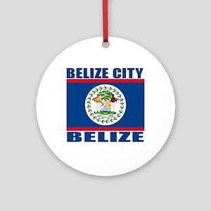Belize City, Belize Ornament (Round)