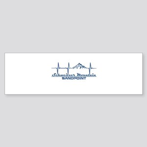 Schweitzer Mountain - Sandpoint - Bumper Sticker