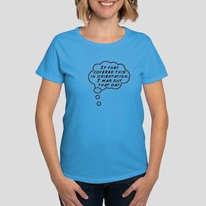 Missed this part Women's Dark T-Shirt
