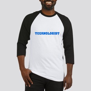 Technologist Blue Bold Design Baseball Jersey