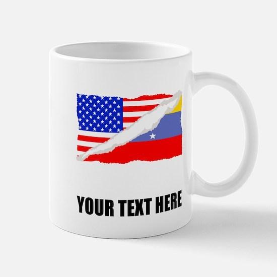 Venezuelan American Flag Mugs