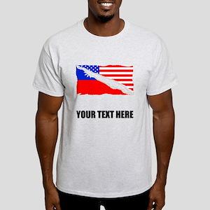 Taiwanese American Flag T-Shirt