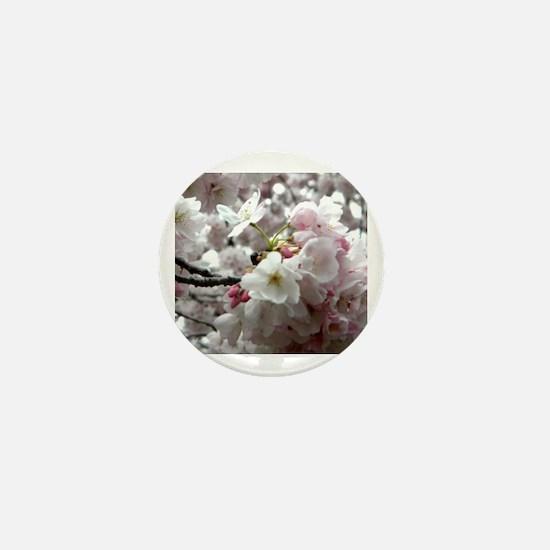 Unique Blossom Mini Button