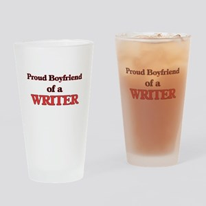 Proud Boyfriend of a Copywriter Drinking Glass