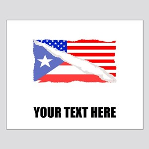 Puerto Rican American Flag Posters