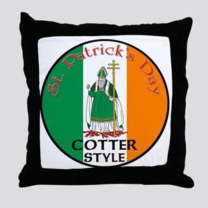 Cotter, St. Patrick's Day Throw Pillow