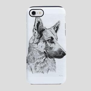 German shepherd iPhone 8/7 Tough Case