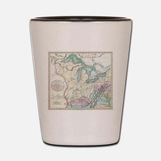 Funny Us history Shot Glass