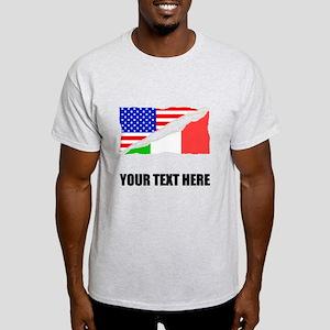 Italian American Flag T-Shirt