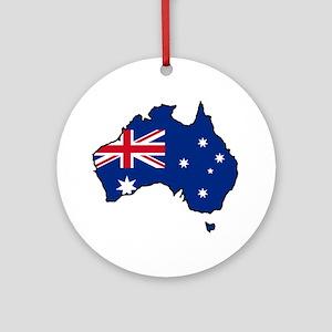 Cool Australia Ornament (Round)