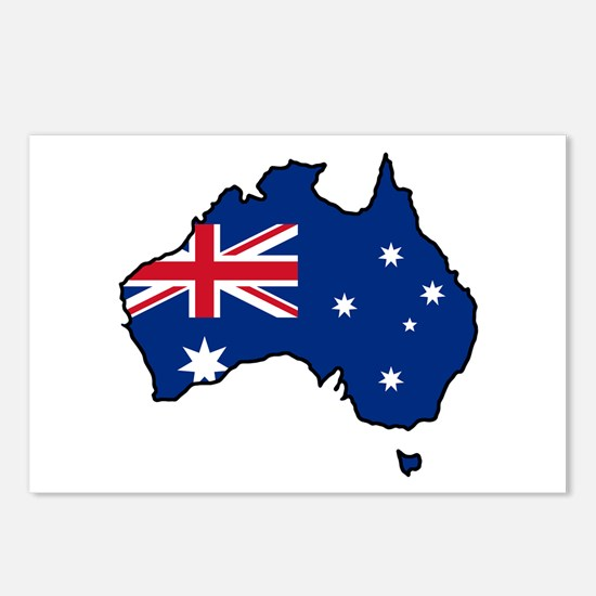 Cool Australia Postcards (Package of 8)