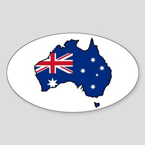 Cool Australia Oval Sticker