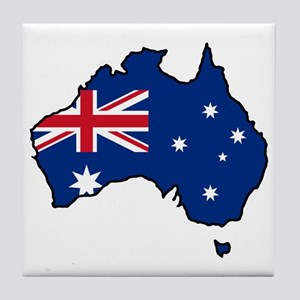 Cool Australia Tile Coaster