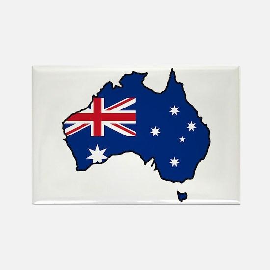 Cool Australia Rectangle Magnet