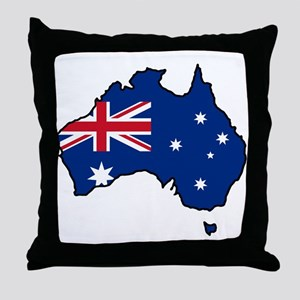 Cool Australia Throw Pillow