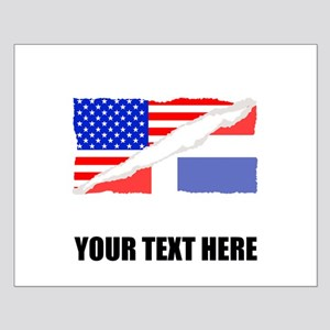 Dominican American Flag Posters