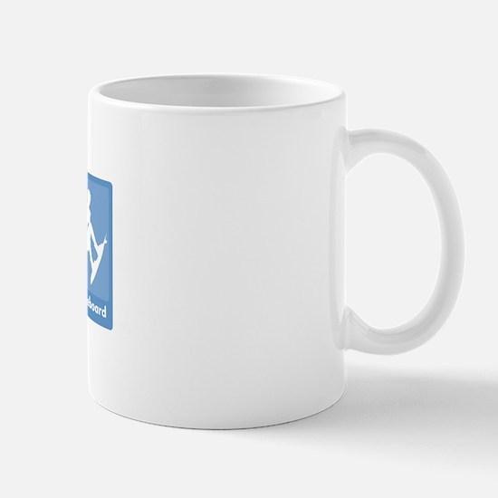 Eat, Sleep, Wakeboard Mug