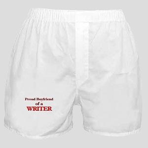 Proud Boyfriend of a Detective Boxer Shorts