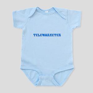 Telemarketer Blue Bold Design Body Suit