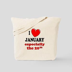 January 20th Tote Bag