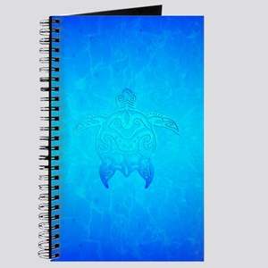 Ocean Blue Tribal Turtle Journal