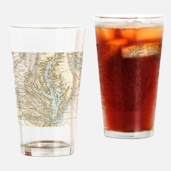 Cute Chesapeake bay Drinking Glass