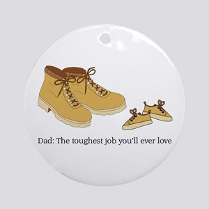 For Daddy Ornament (Round)