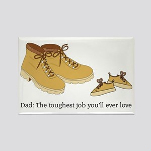 For Daddy Rectangle Magnet