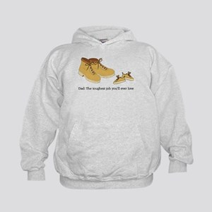 For Daddy Kids Hoodie