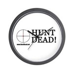 Hunt Dead Wall Clock
