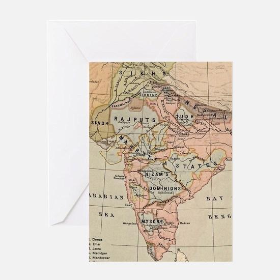 Unique India Greeting Card