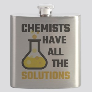 Chemists Have All The Solutions Flask