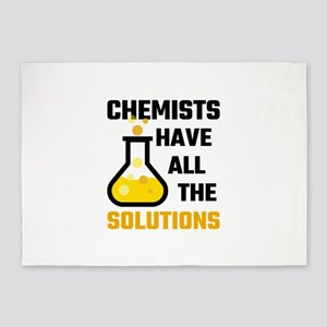 Chemists Have All The Solutions 5'x7'Area Rug