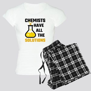 Chemists Have All The Solut Women's Light Pajamas