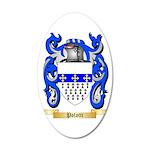 Polotti 35x21 Oval Wall Decal