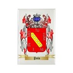 Polo Rectangle Magnet (100 pack)