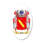 Polo 20x12 Oval Wall Decal
