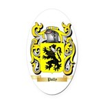 Polly Oval Car Magnet