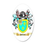 Pollock Oval Car Magnet