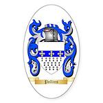 Pollins Sticker (Oval 10 pk)