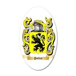 Polliet 20x12 Oval Wall Decal