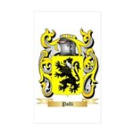 Polli Sticker (Rectangle 50 pk)